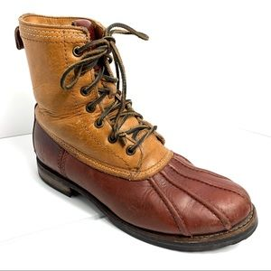 FRYE Veronica Duck Boots Well Loved Sz 7.5